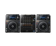 Pioneer XDJ-1000 MK2 and DJM-750 MK2 Package