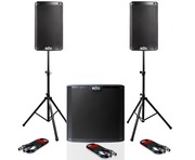 Alto TS208 (Pair) and TS212S Subwoofer