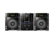 Pioneer CDJ850 Black & DJM-S3 Package