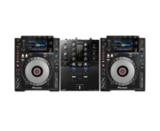 Pioneer CDJ900 Nexus and DJM-S3 Package