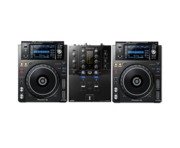 Pioneer DJ XDJ-1000 MK2 and DJM-S3 Package