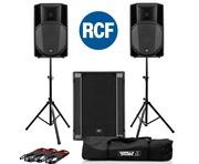 2x RCF Art 735-A MK4 PA Speaker & RCF Sub 705-AS II Sub