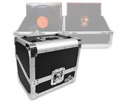 "Gorilla 80x 12"" Vinyl Record Storage Case Box 50/50 (Black)"