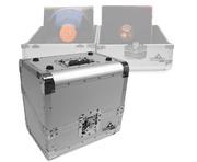"Gorilla 80x 12"" Vinyl Record Storage Case 50/50 (Silver)"