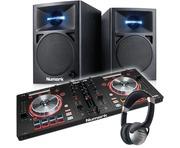 Numark Mixtrack Pro 3 with Numark N-Wave 360 Speaker Package