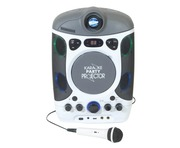 Mr Entertainer CDG Bluetooth Karaoke Machine with LED Projector