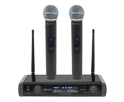 W Audio TM 80 Twin Handheld UHF System