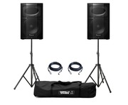 Pioneer XPRS 10 (Pair) with Stands & Cables Package