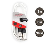StageCore Female XLR - Male XLR White Cable