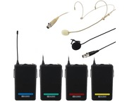 W Audio RM Quartet Beltpack Kit