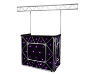 Equinox Truss Booth System + Overhead Kit & Quad LED Starcloth