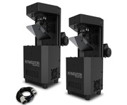 Chauvet Intimidator Scan 110 (Pair) with Free DMX Cable
