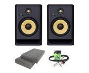 KRK Rokit RP8 G4 (Pair) with Pads & Cable