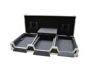 "Total Impact Coffin Flight Case CDJ2000 / 12.5"" Mixer inc Laptop Shelf"