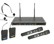 Chord NU4-C Quad UHF Wireless Microphone System