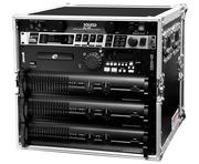 """TIP Total Impact 10U 19"""" Amplifier Deluxe Case- 18"""" deep"""