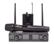 Q-Audio QWM 1950 HH + BP Wireless Mic System (606 - 614MHz - CH38)