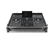UDG Ultimate Flight Case Denon DJ Prime 4 - Silver (Plus Wheels)