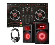 Numark NS6 MKII with Speakers (Pair) & Headphones