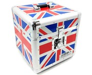 Total Impact TIP LP100 Vinyl Record Carry Case UNION JACK