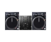Reloop RP-4000 MKII Turntables & Numark M101 Black Mixer Package