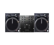 Reloop RP-4000 MKII Turntables & Numark M101 USB Black Mixer Package