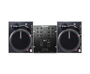 Reloop RP-4000 MKII Turntables & Numark M101 USB Black Mixer