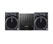 Reloop RP-4000 MKII Turntables & Numark M6 USB Black Mixer Package