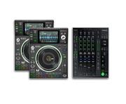 Denon DJ SC5000M (Pair) & Denon X1800 Mixer