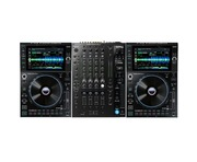Denon DJ SC6000 Prime Media Player (Pair) + X1850 Prime Mixer Package