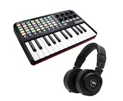 Akai Professional APC Key 25 with RANE RH-2 Bundle