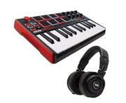 Akai Professional MPK Mini MK2 with Rane RH-2 Bundle