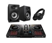 Pioneer DJ DDJ-400 with DM40BT Speakers plus HDJ-X5 Headphones
