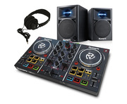 Numark Party Mix with N-Wave 360 Speakers & Headphones
