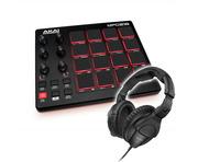 Akai Professional MPD218 Controller & Sennheiser HD 280 PRO Headphones