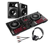 Numark Mixtrack Pro FX inc M-Audio AV32 Monitors, Headphones & Cable
