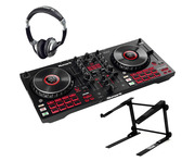 Numark Mixtrack Platinum FX w/ Headphones & Laptop Stand