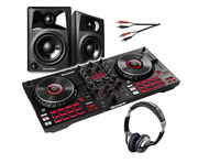 Numark Mixtrack Platinum FX with Monitors, Headphones & Cable