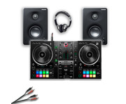 Hercules Inpulse 500 with Monitors + Headphones Bundle