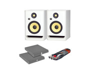 KRK RP7 G4 White Noise with Isolation Pads + Cable