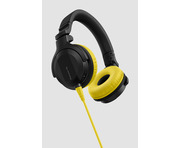 Pioneer HDJ-CUE1 Headphones With Yellow Accessory Pack