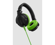 Pioneer HDJ-CUE1 Headphones With Green Accessory Pack