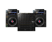 Pioneer CDJ-3000 (x2) + DJM-V10 w/Cable Bundle