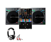 Rane TWELVE MKII (x2) + Pioneer DJM-S11 w/ Headphones + Cable