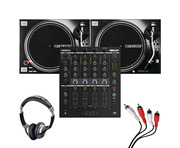 Reloop RMX-44 BT + RP-7000 MK2 (Pair) w/ Headphones + Cable