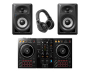Pioneer DJ DDJ-400 with DM40BT Speakers plus HDJ-X5 Headphones