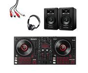 Numark Mixtrack Platinum FX + M-Audio BX3 (Pair) w/ Headphones + Cable