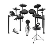 Alesis Nitro Mesh Kit w/ Expansion Pack, Stool & Headphones