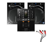 Pioneer PLX-1000 Turntable & DJM-250MK2 Mixer Package