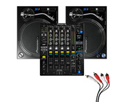 Pioneer PLX-1000 and Pioneer DJM-900 NXS2 Mixer Package